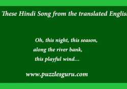 Guess-These-Hindi-Song-from-the-translated-English-Clue