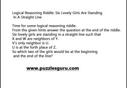 Logical-Reasoning-Riddle