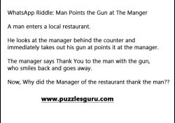 Man-Points-the-Gun-at-The-Manger
