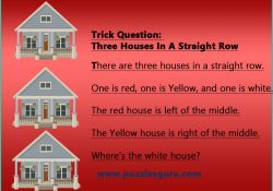 Trick-Question-Three-Houses-In-A-Straight-Row