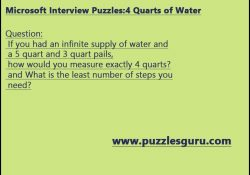 Microsoft-Interview-Puzzle4-Quarts-of-Water