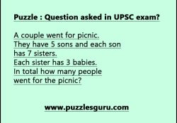 Puzzle--Question-asked-in-UPSC-exam