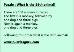 What-is-the-99th-animal
