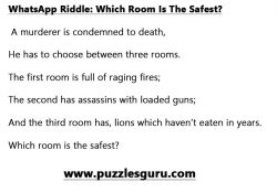 WhatsApp-RiddleWhich-Room-Is-The-Safest